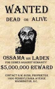 osama wanted