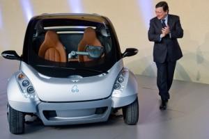 hiriko ηλεκτρικό αυτοκίνητο