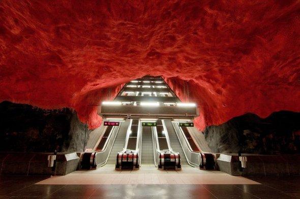 Το μετρό της Στοκχόλμης είναι το πιο όμορφο στον κόσμο