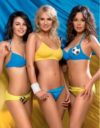 Ουκρανές καλλονές στο Euro 2012
